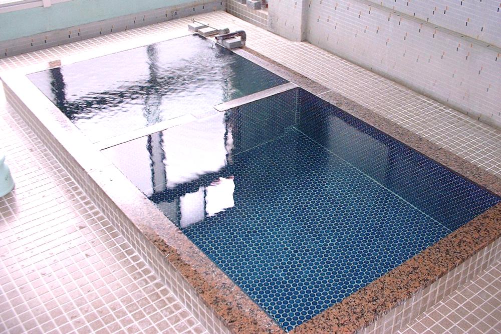 竹屋旅館の浴槽の写真